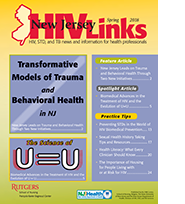 cover of 2018 spring edition of NJ HIVLinks Newsletter