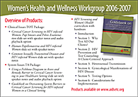 image of Women's Health and Wellness Wellness postcard