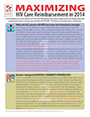 Image of handout Maximizing HIV Care Reimbursement in 2014. Click here to get more information